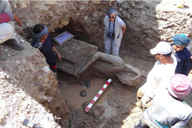 egypte-decouverte-exceptionnelle-de-66-statues-vielles-de-3300-ans